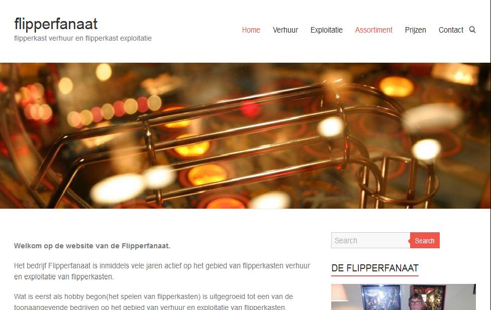 Webdesign Flipperfanaat