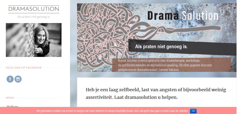 Webdesign Dramasolution