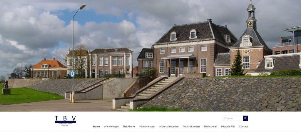 Webdesign Tiel-bijzonder-verleden.nl